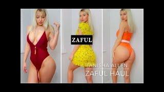 ZAFUL BIKINI & SUMMER HAUL REVIEW   SWIMSUIT TRY ON 2019