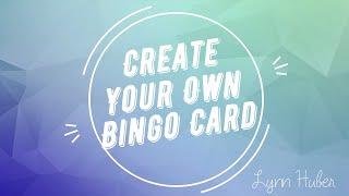 How to Create a Cool Custom Bingo Card ❤️