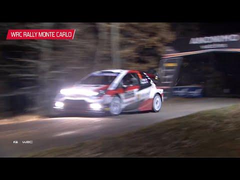 2020年WRC第1戦ラリーモンテカルロ ToyotaGazooRacing GRヤリス Day1ハイライト動画