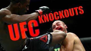 UFC BRUTAL KNOCKOUTS COMPILATION