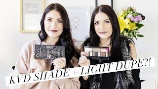 Kat Von D Shade + Light Palette Dupe