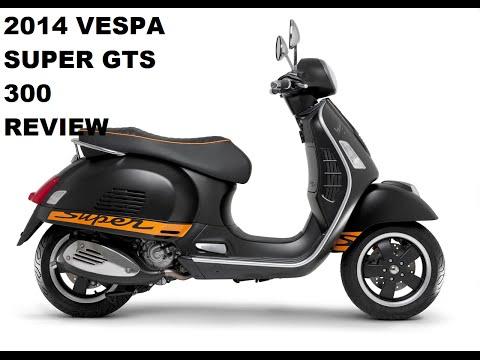 2014 Vespa 300 GTS Review +LX150