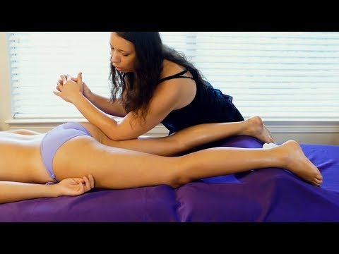 Lower Back Pain Relief with Natanha | Advanced  Massage Techniques for Feet & Legs Tutorial