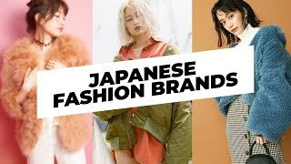 ✨ FAVORITE JAPANESE CLOTHING BRANDS ✨ WHERE TO SHOP IN TOKYO / JAPAN ✨ STREETWEAR / KAWAII  / CASUAL