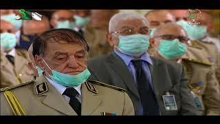 رئيس الجمهورية القائد الأعلى للقوات المسلحة وزير الدفاع الوطني يترأس حفل تقليد الرتب وإسداء الأوسمة