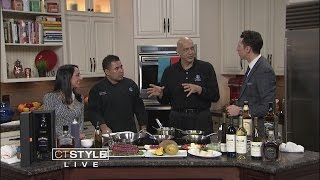 In the Bender Kitchen: Saybrook Point Inn & Spa