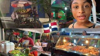 CRAZY SANTO DOMINGO DOMINICAN STREET FOOD TOUR ! Probando FRITURA En República Dominicana Vlog