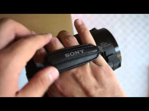 Cámara de Vídeo 4K Sony FDR AX40 Unbox