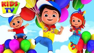 Balloon Song   Junior Squad   Kindergarten Rhymes For Toddlers   Cartoon Videos by Kids Tv