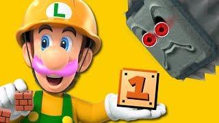 MAKING A MESS...   Super Mario Maker 2 - Part 1