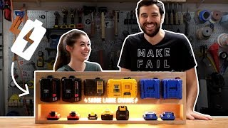 Our Take On A Tool Charging Station
