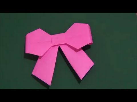 How to Make Origami Ribbon