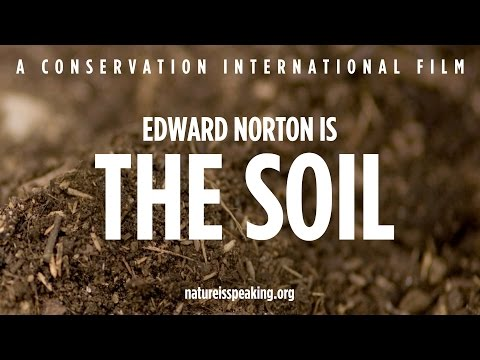 Nature Is Speaking - Edward Norton is The Soil