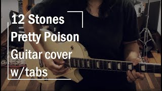 12 Stones - Pretty Poison (guitar cover w/tabs) - Jazz Howlett