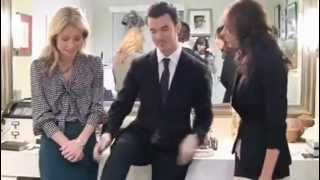 Даниель Джонас, Kevin Jonas y Danielle Deleasa en LIVE! with Kelly - Kellys Fashion Finder