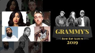 Best Rap Album Grammy Nominations 2019 | iLLANOiZE Radio