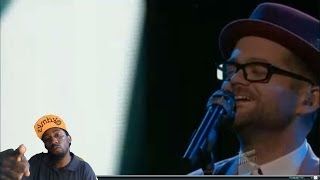 "josh kaufman performs ""This is it "" The voice 2014 top 8 Solid performance Great reaction"