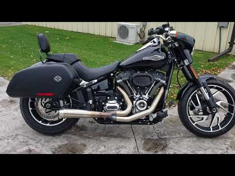 2020 Harley-Davidson Softail Sport Glide Sport Glide at Classy Chassis & Cycles