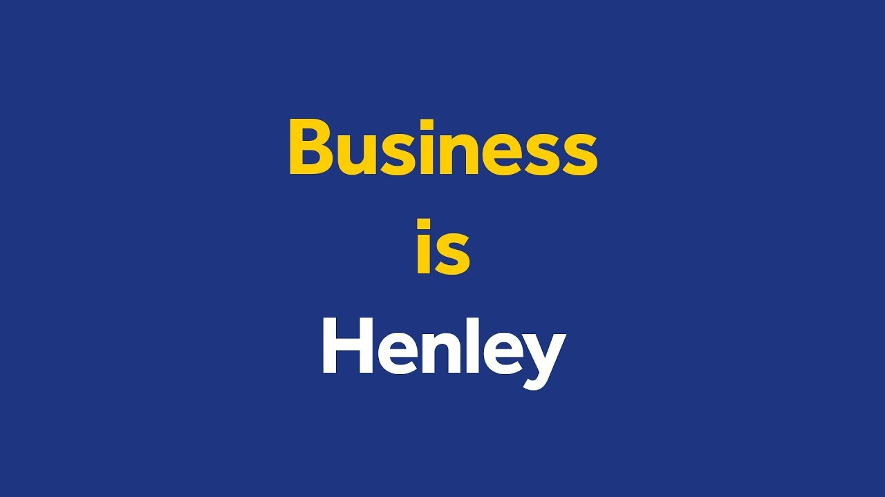 Business Is Henley