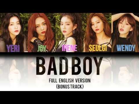 Kpop Lyrics - English Version - Red Velvet - Bad Boy (English ver