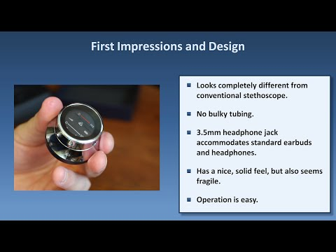 Digital Stethoscope Review - Thinklabs One vs. Littmann 3200