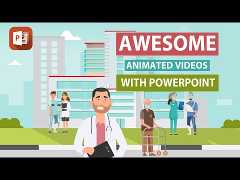 How To Create Animated Videos With PowerPoint | Beginners Guide