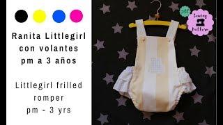 Ranita Con Volantes Para Niña Mod. Littlegirl