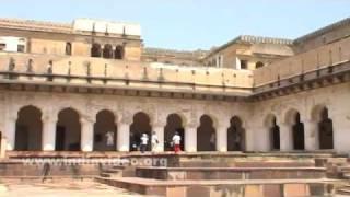 Public Audition Hall of Raj Mahal Palace, Orchha