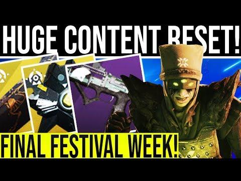 Destiny 2. NEW DLC NIGHTFALL STRIKE! Astro A50 Giveaway, Festival Ending, New Secret Challenge