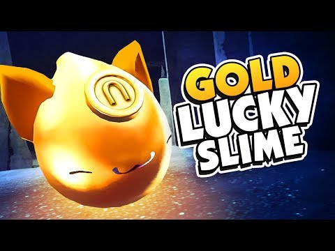 A LUCKY SLIME ATE A GOLD PLORT - Slime Rancher Gold Largo Mod