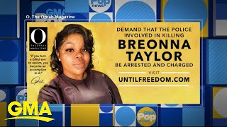 Oprah Set Up Billboards In Louisville, Kentucky, That Advocate Justice For Breonna Taylor | GMA