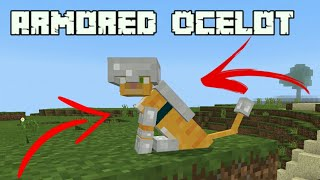 How To Put Armor On An Ocelot In Minecraft Pocket Edition ฟร