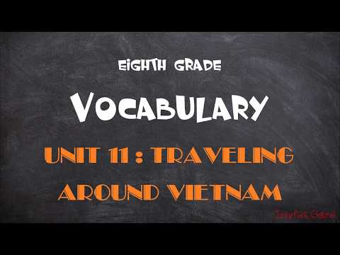 TIẾNG ANH 8 (7 NĂM) - VOCABULARY - Unit 11: Traveling around Vietnam