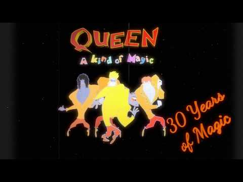 A Kind Of Magic (Queen) cover