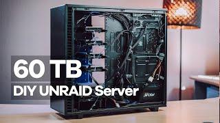 60 TB Unraid Server    Einbau in Fractal Design Gehäuse Teil2