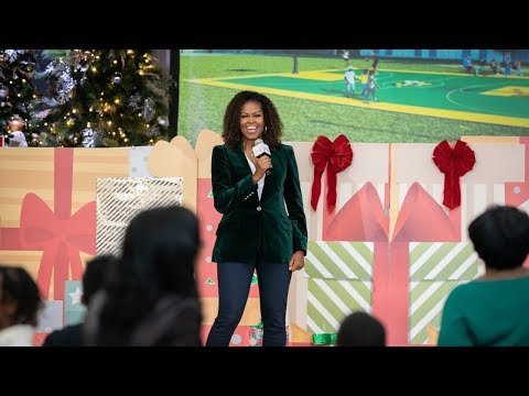 Michelle Obama Gives Washington D.C. School the Biggest Surprise of Their Year
