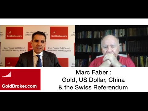 Marc Faber: Gold Price, US Dollar & the Swiss Gold Initiative