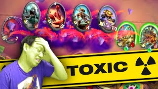 Toxic N'zoth Combo Arena | Druid | Forged in the Barrens | Hearthstone
