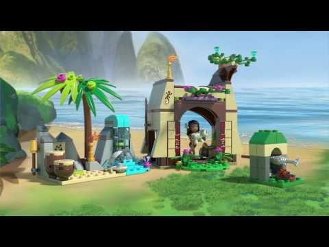 Конструктор Приключения Моаны на затерянном острове - LEGO DISNEY PRINCESS - фото № 18