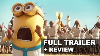 Minions 2015 Official Trailer + Trailer Review : Beyond The Trailer
