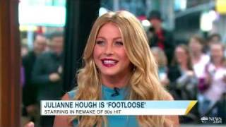 Julianne Hough Chats About 'Footloose', 'DWTS' and Boyfriend Ryan Seacrest on 'GMA'