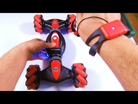 Dancing RC Car with Smart Watch Control - Review