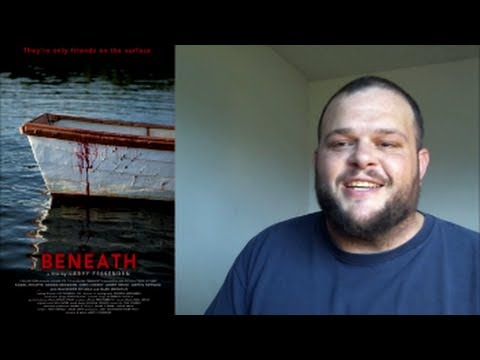Beneath movie review (2013) horror thriller fish monster
