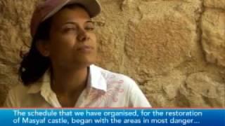 preview picture of video 'مصياف & مصيافي قلعة مصياف مقابلات لقناة رويترز'