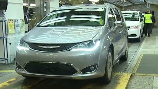 Chrysler Pacifica Production