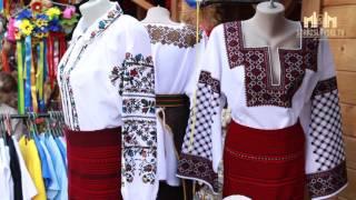 STV.  На Івано-Франківській Великодній ярмарці представлені колоритні косівські вишиванки
