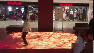 Interactive LED Floor | Interactive LED Screen Software | LuminVision