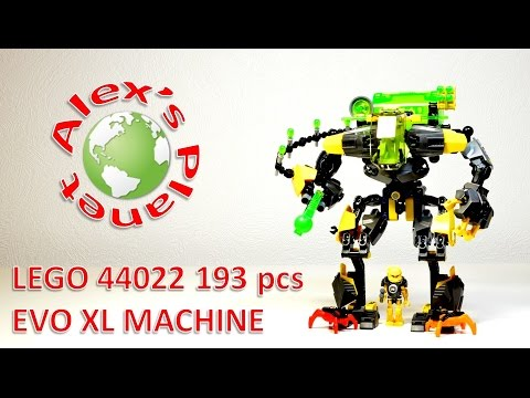 Vidéo LEGO Hero Factory 44022 : Evo XL Machine