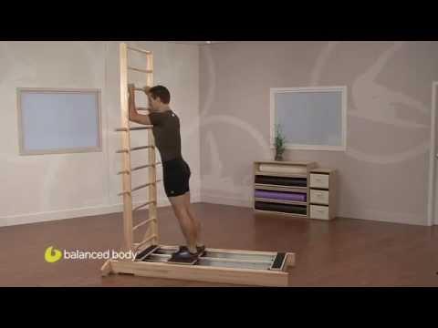 תרגילי קוראליין: Leaning Ski Jump
