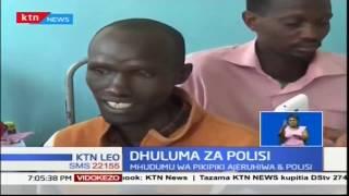 Mwanaume anauguza majereha mabaya kaunti ya Nakuru akidai kujeruhiwa na polisi